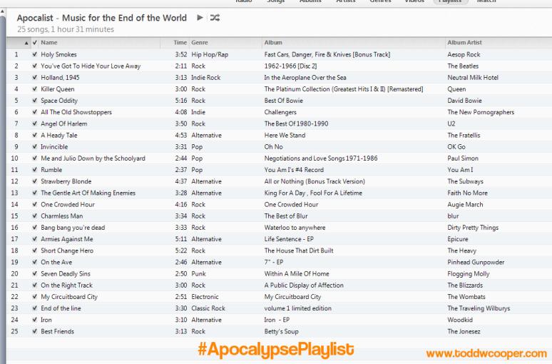 Apocalist-ApocalypsePlaylist